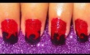 Red Hot nail art tutorial.... :-)