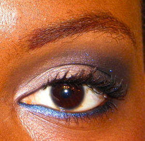 created using Bare Minerals and MAC shades =D
