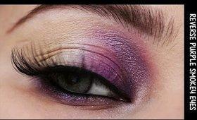 [ENG] Make-up tutorial: Reserve Purple Smoky eyes