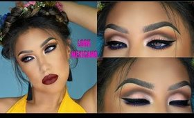 Maquillaje Colorido MEXICANO / Frida Look makeup tutorial | auroramakeup
