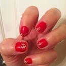Red & Gold Glitter!
