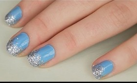 Ice Queen Christmas Nails