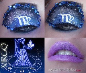 This is my entry for the Zodiac Inspired competition on makeupbee. I'd really appreciate it if you could vote for my look here: http://www.makeupbee.com/look.php?look_id=58680  Thankies!