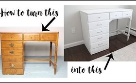 How To Easily Refinish Old Furniture