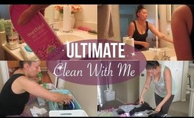 Ultimate Clean With Me | Throughout The Entire Week | Cleaning Motivation
