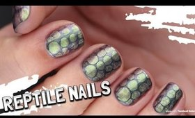 EASY Reptile Nail Art!