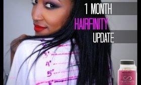 1 Month Hairfinity Update