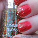 Holiday Glitter Gradient