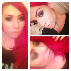 MySelf Make Up Artist - Myself *Products Not Listed Below* Magenta Lip Liner MAC Fuchsia Pigment MAC