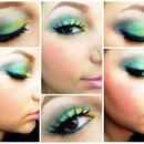 Mermaid inspired Look 2