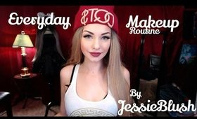 My everyday makeup routine by Jessie Blush