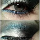 Metallic Blue Smokey