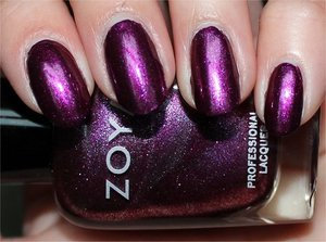 See more swatches & my review here: http://www.swatchandlearn.com/zoya-carly-swatches-review/