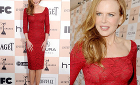 Independent Spirit Awards Hair 2011: Nicole Kidman