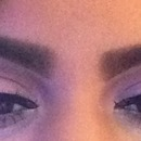 Pinks &  purples smokey eye with cat eye linner