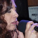 Me singing live in a jazz bar;)