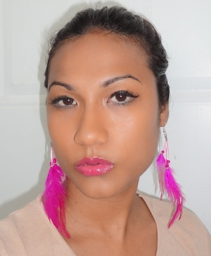Try a vibrant pink lip for an instant pop of colour to the face:  http://chinadolltt.blogspot.com/2012/05/passionate-duo-mac-impassioned-lipstick.html