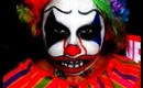 Creepy Clown - Halloween Makeup 2012
