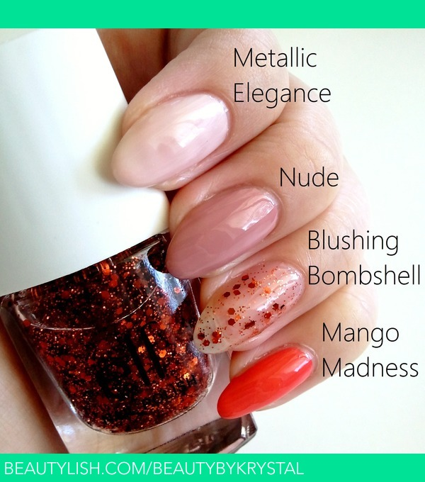 SWATCHES on Special Edition ELF Essential 4-Piece Nail Polish Set - Trendy