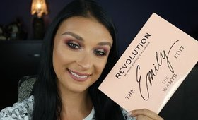 Revolution X The Emily Edit - The Wants Palette - Makeup Tutorial & Thoughts!