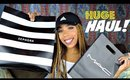 😳 HUGE MAKEUP HAUL - Sephora, Kat Von D, Sun Dipped, Drugstore & More!