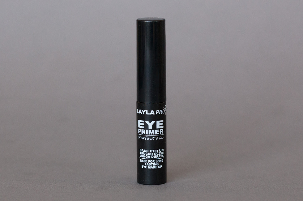 Eyeshadow Primers: Layla Pro Perfect Fix Eye Primer