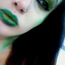 Snake inspired makeup