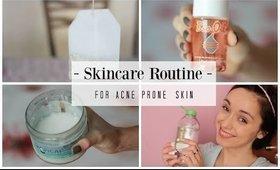 MY SKINCARE ROUTINE - sensitive acne prone skin - Patty Sway