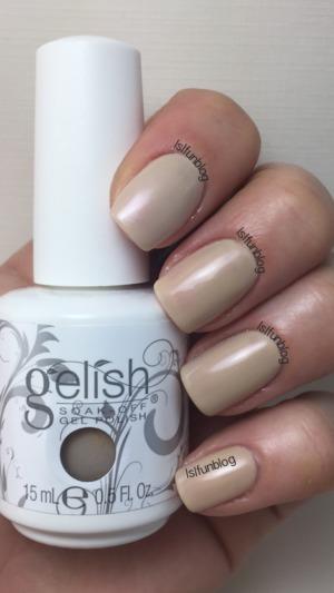 Gelish Do I Look Buff? - gel polish swatch