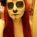 Halloween Sugar Skull Make-Up