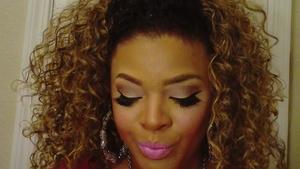 I used St.Germine lipstick by MAC