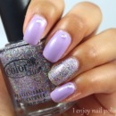 Wet n Wild Lay Out in Lavender & Color Club Sugar Plum Fairy