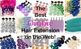 The Best Ombre Human Hair Extension & Clip-Ins on the Web