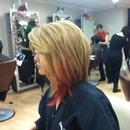 short pink blonde
