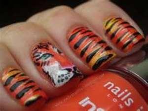 Tigerr nails! <3333