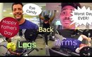 EP.3 | HAPPY FATHERS DAY, INTERMITTENT FASTING, BACK, ARMS & LEGS | FAMILY DAILY VLOG | Shlinda1