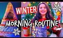 Winter morning routine 2014