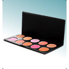 BH Cosmetics 10 Piece Professional Blush Palette
