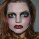 Lady Gaga's Applause Makeup