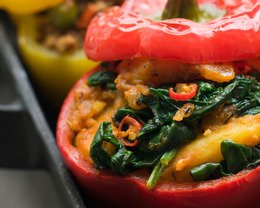 Beauty Detox: Rainbow Peppers