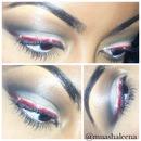 red glitter liner