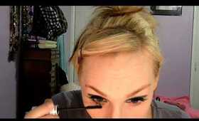 """Primped & Painted : MOD """"Twiggy"""" Hair and Makeup Tutorial"""