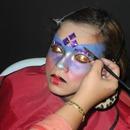 Behind The Scene : Futuristic Beauty Woman