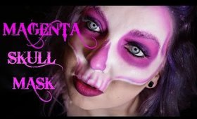 Magenta Skull Mask Collab