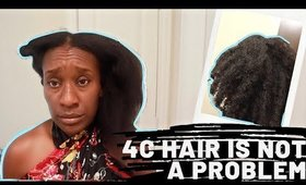How I Maintain & Love 4c Natural Hair : Wash Day and Chit Chat
