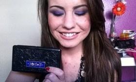 Vivid Purple Eyes: Kat Von D Poetica Palette
