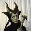 Halloween 2013 - Me as Maleficent