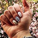 Bordeaux nails nail art