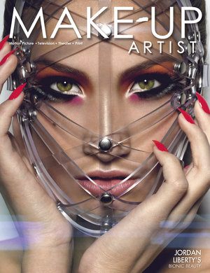 My cover of Make-Up Artist Magazine issue #112 (coming Jan 1, 2015). www.makeupmag.com