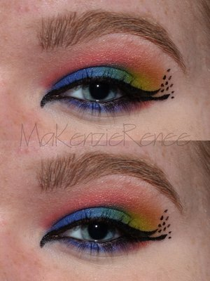 Inspired by a peacock. lol